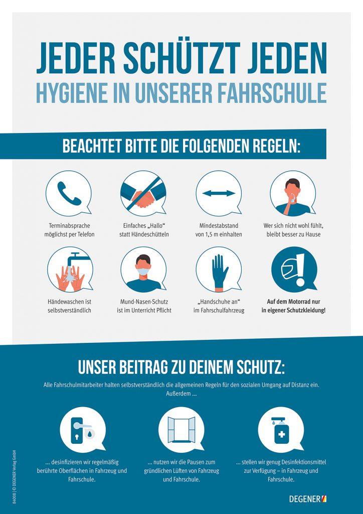 Hygieneregeln bei Pandemien